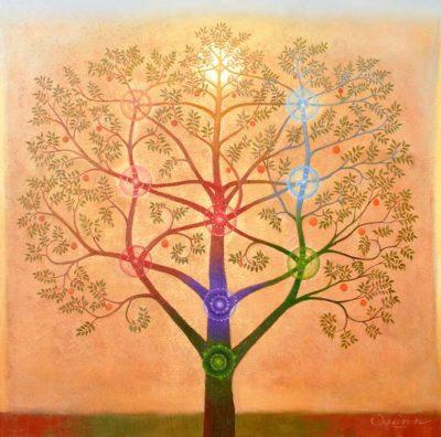 Tree of Life based on the Kabbalah_art